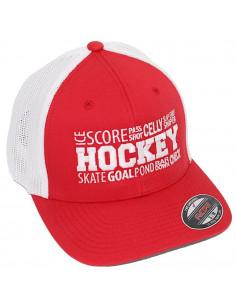 Hockey ABC Red/White