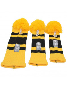 Golfheadsox - gelb/schwarz...