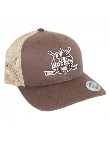 Pondhockey Classic Trucker Brown